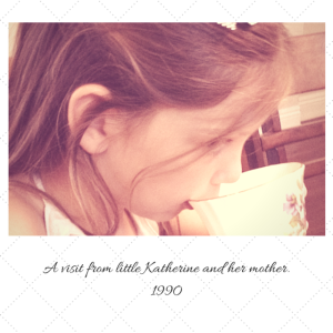 A visit from little Katherine