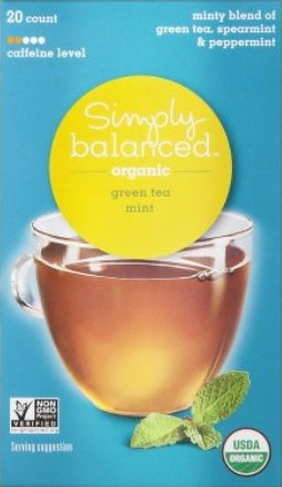 Simply Balanced Green Tea Mint