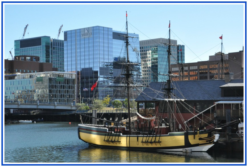 Ships During Boston Tea Party