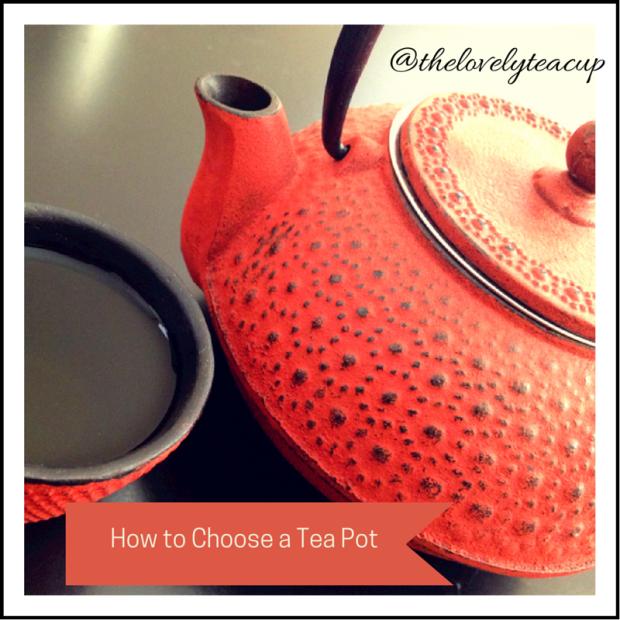 Choose a Tea Pot