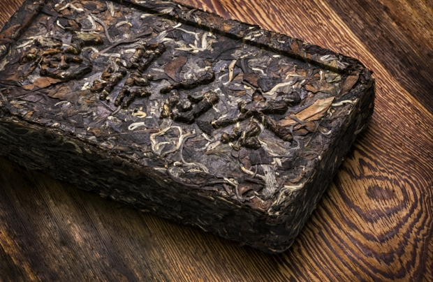 Brick of Puerh Tea